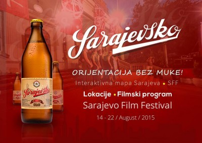 Sarajevsko beer for all movie lovers…
