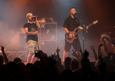 Sarajevsko sponsored the concert of punk-rock band Hladno pivo