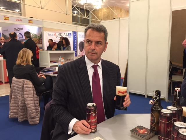 Excellent presentation of  Sarajevo Brewery at the Tirana Fair