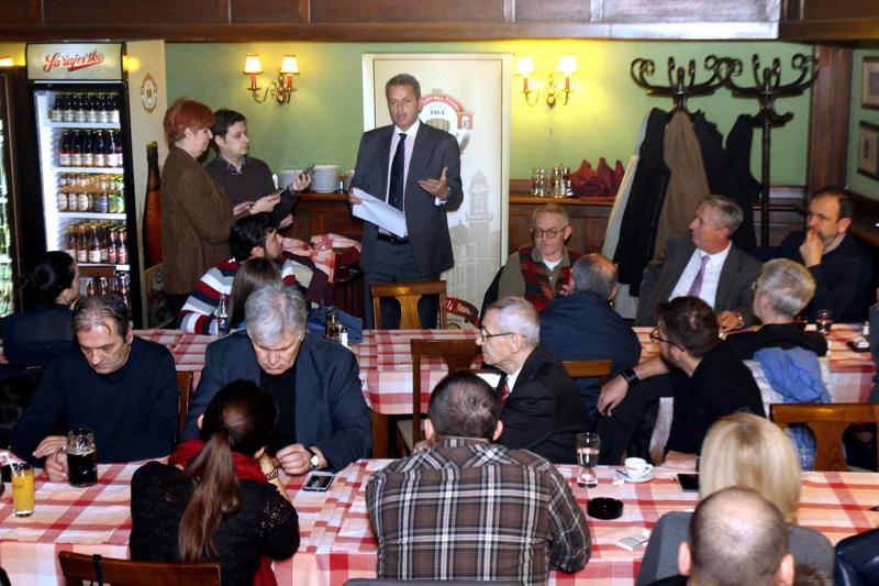 New Year's social gathering with journalists organized by Sarajevo Brewery: 2015 better than 2014