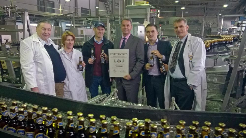 Sarajevo brewery started with production of OeTTINGER beer