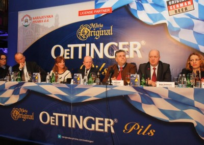 Sarajevska pivara, licensed manufacturer of Oettinger for the region