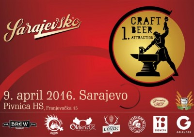Erste Craft Beer Attraction in Bosnien und Herzegowina mit Sarajevsko