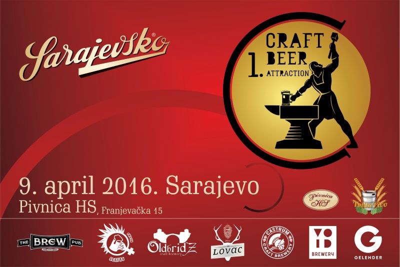 First craft beer attraction in B&H with Sarajevsko
