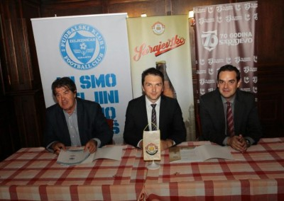 The Sarajevsko beer – Sponsor of Most Successful Football Clubs in B&H
