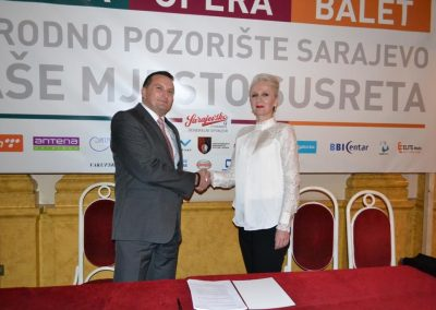 Successful cooperation of Sarajevska pivara and National Theatre continues